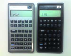 Comparison between HP20b and HP30b